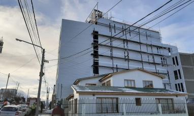 Tierra del Fuego: En Ushuaia, tres obreros resultaron heridos al caer de un quinto piso