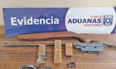Tierra del Fuego: Viajaba de Río Grande a Misiones y fue detenido por no declarar un rifle en la frontera chilena