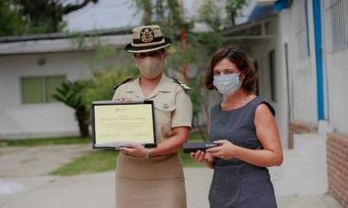 Tigre (Bs. As.): Una mujer asume por primera vez la jefatura de una unidad de prefectura naval