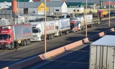 Transportistas chilenos se suman a reclamo de argentinos