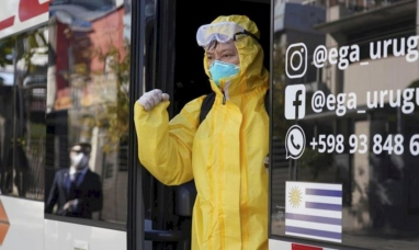 Uruguay: Se registró récord diario de muertes por coronavirus