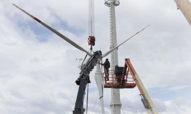 Ushuaia cuenta con su primera turbina eólica