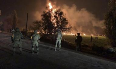 México: Mueren 66 personas al estallar un gasoducto perforado