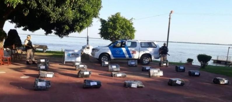 Corrientes: Secuestraron 600 kilos de droga valuados en 12 millones de pesos