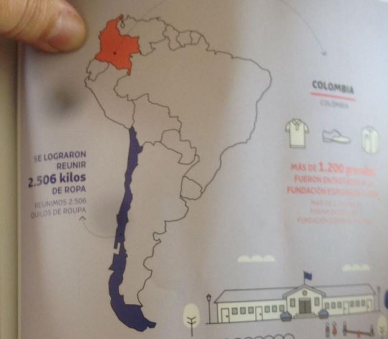 Tierra del Fuego: Advierten que la aerolínea LAN tiene en su revista un mapa donde Argentina figura como territorio chileno