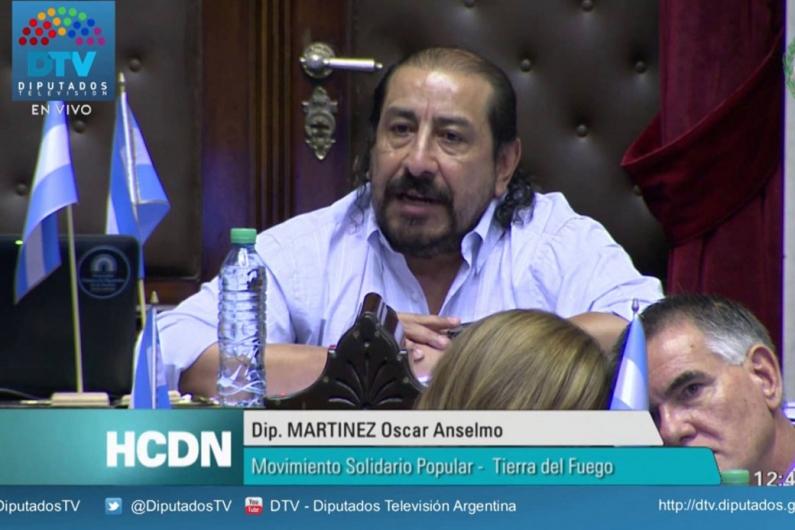 Tierra del Fuego: Diputado Oscar Martínez conforma la comitiva que hoy viaja a Esquel