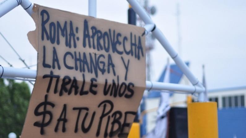 Tierra del Fuego: En Río Grande hubo un fuerte repudio a diputados y senadores fueguinos por la reforma previsional