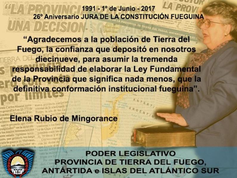 Tierra del Fuego: Hace 26 años dejaba de ser territorio nacional para convertirse en provincia