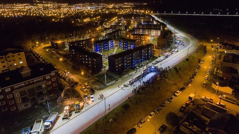 Tierra del Fuego: Inauguraron en Ushuaia la nueva avenida Hipólito Irigoyen