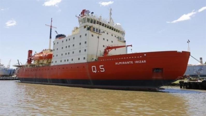 Tierra del Fuego: El rompehielos almirante Irízar podrá ser visitado por toda la comunidad