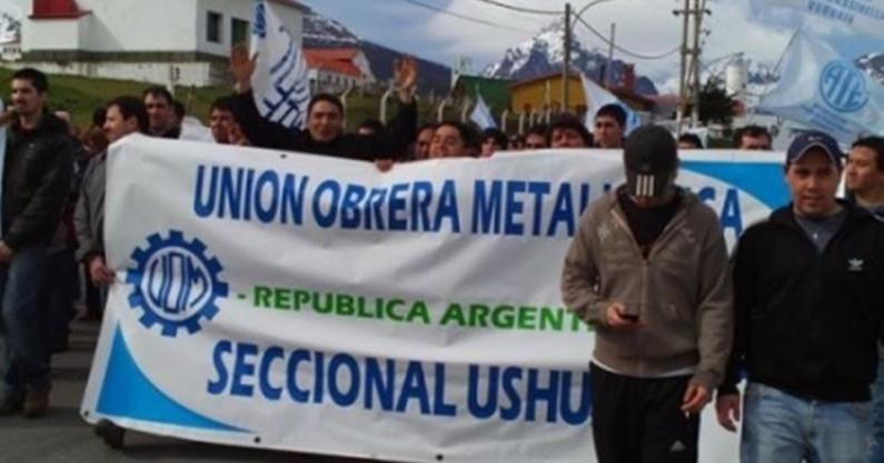 Tierra del Fuego: UOM y AFARTE ratificaron acuerdo ante el ministerio de trabajo de nación