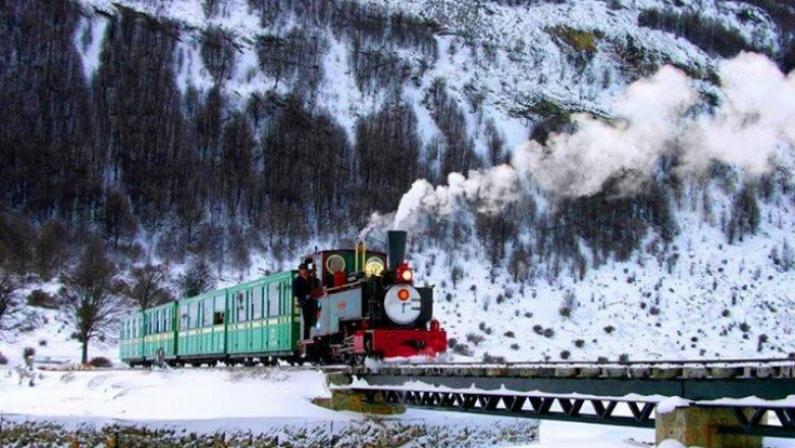 """Tierra del Fuego: Se vendió el tren del """"Fin del mundo"""", la clásica atracción turística de Ushuaia"""
