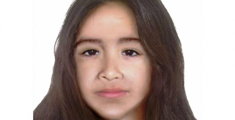Tierra del Fuego: Así sería el rostro de Sofía Herrera, con 12 años de edad