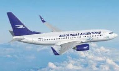 Aerolíneas argentinas informó la cancelación de vuelos para la presente jornada