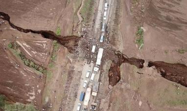 Africa: Una enorme grieta en Kenia puede dividir el continente en dos
