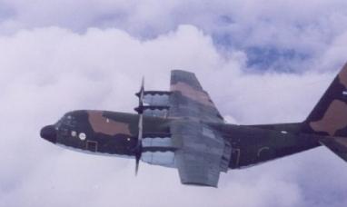 Un avión de la Fuerza Aerea se declaró en emergencia