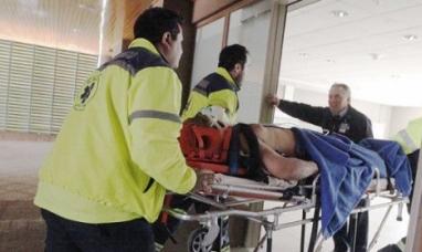 Camionero argentino quedó herido luego de un vuelco en la ruta chilena