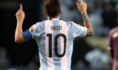 Chubut: La camiseta argentina del mundial de Rusia se fabrica en Trelew