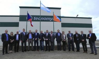 Empresarios y ex funcionarios de la república Checa recorrieron las instalaciones de Tecnomyl
