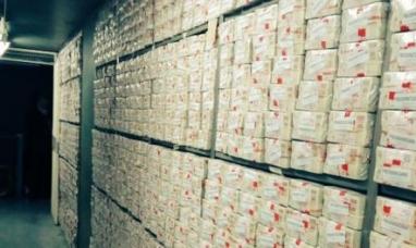 El fin de una época: destruyen 239 millones de Patacones