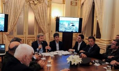 Frigerio encabezó una reunión con jueces y secretarios  electorales de las provincias