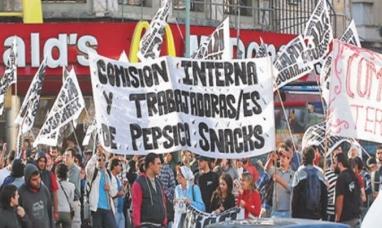 Hoy martes 18 de Julio:  Día de lucha nacional para respaldar a los despedidos de PepsiCo