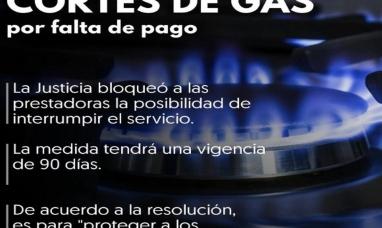 La justicia federal ratificó que no se podrá cortar el servicio de gas por falta de pago