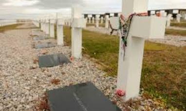 Las primeras muestras de los soldados caídos en Malvinas llegaron al país para su análisis