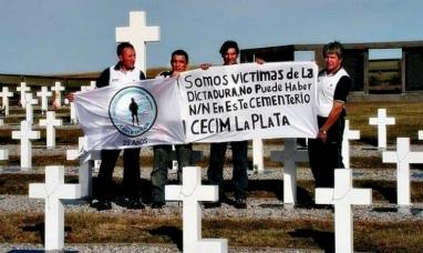 Malvinas: Veteranos agradecieron a la cruz roja internacional por la tarea de identificación de soldados