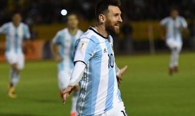 Un Messi en todo su esplendor metió a Argentina en Rusia 2018