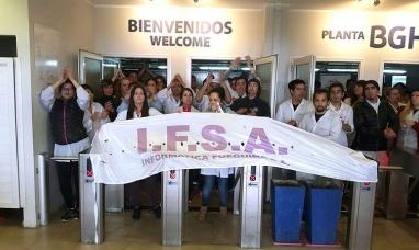 El ministerio de trabajo de nación dictó la conciliación obligatoria en el conflicto en la empresa IFSA