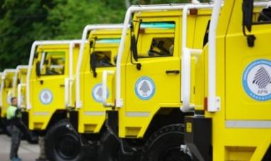 Neuquén: El Parque Nacional Lanín ya tiene nuevas autobombas