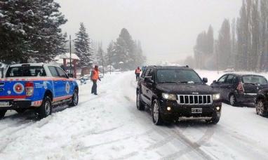 Neuquén: Rutas inhabilitadas para el tránsito a partir de las 20.00 de ayer