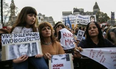 Organismos de DD.HH. convocan a una marcha por Santiago Maldonado