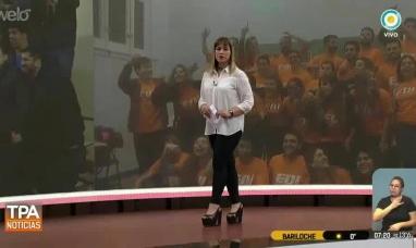 Orgullo fueguino: Periodista de Río Grande en el noticiero de la TV pública nacional