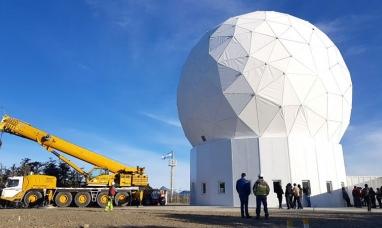 Tierra del Fuego tiene su estación de monitoreo satelital