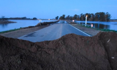 La Pampa: La ruta nacional 5 estará cortada al tránsito durante al menos siete días