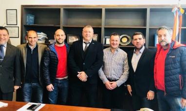Patagonia: Los secretarios de deportes se reunieron con senador nacional