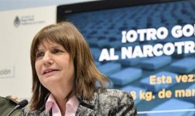 """Patricia Bullrich elogió a gendarmería y pidió """"cuidar a quienes nos cuidan"""""""