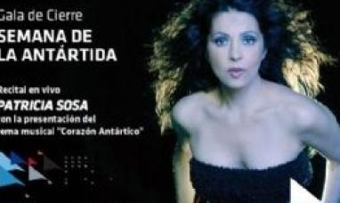 Patricia Sosa brindará el lunes 22 un show en Ushuaia