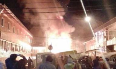 Policía desalojó compulsivamente las carpas en Ushuaia y hay heridos