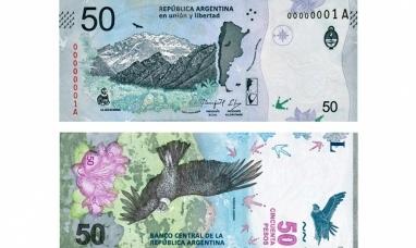Le presentamos el nuevo billete de $ 50.- que circula desde hoy
