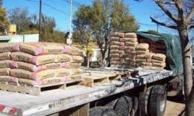 En el primer semestre, Tierra del Fuego tuvo una gran caída en la demanda de cemento