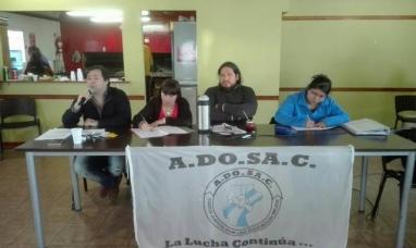 Santa Cruz: Congreso provincial de ADOSAC determinó paro por 24 horas