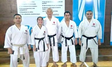 Karate do shotokan en Tierra del Fuego: Todos aprobados