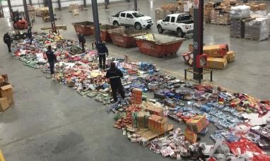 Tierra del Fuego: Aduana de Río Grande destruyó juguetes chinos valuados en más de 2 millones de pesos