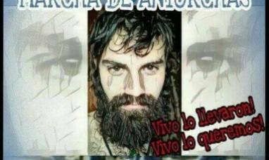 """Tierra del Fuego: Anuncian una """"marcha de antorchas"""" reclamando la aparición de Santiago Maldonado"""