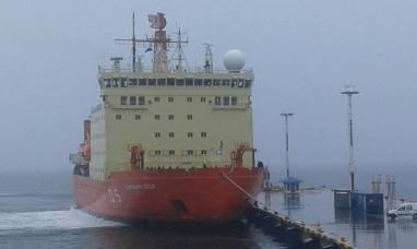 Tierra del Fuego: El ARA almirante Irízar finaliza con éxito la campaña antártica 2017-18