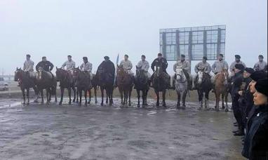 """Tierra del Fuego: Arrancó la recreación del histórico """"correo a caballo"""""""