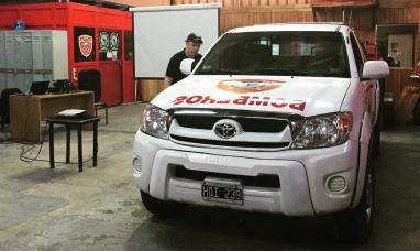 Tierra del Fuego: Asumirá en la vicepresidencia 3ra del consejo nacional de bomberos de la república Argentina